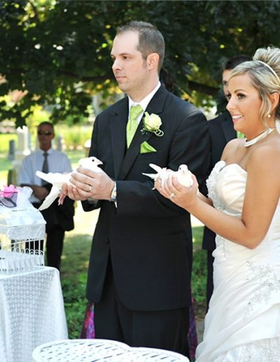 Our-bride-and-groom-with-doves
